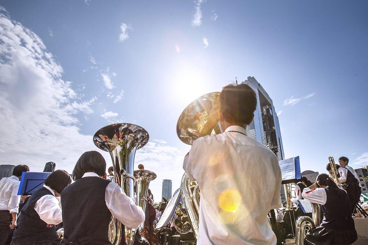 松本市セイジオザワ松本フェスティバル2019吹奏楽パレード