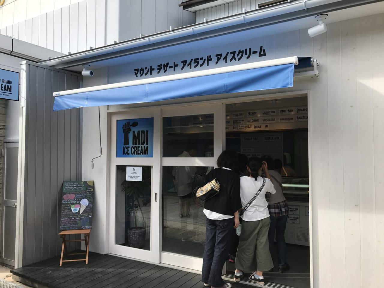松本市MDIアイスクリーム