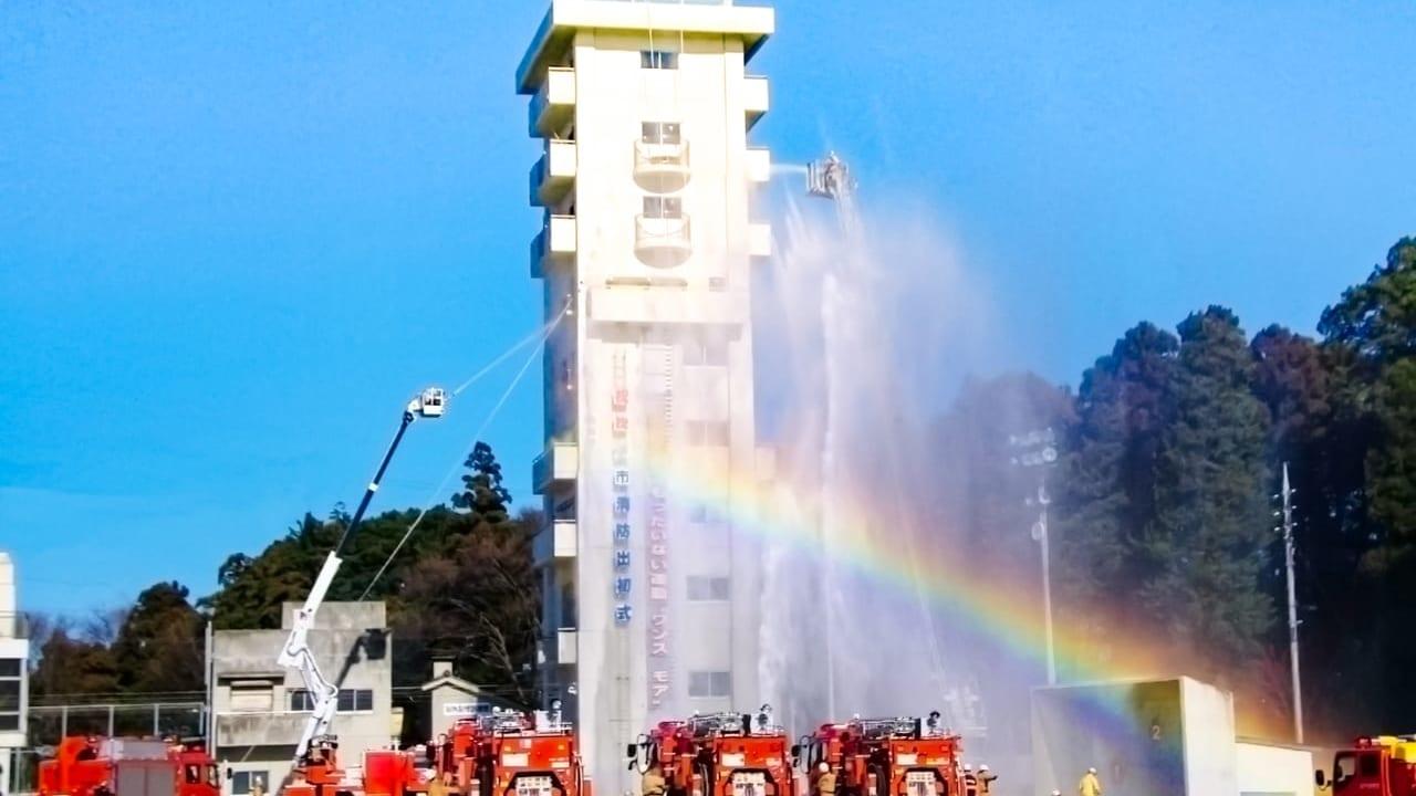 松本市消防出初式