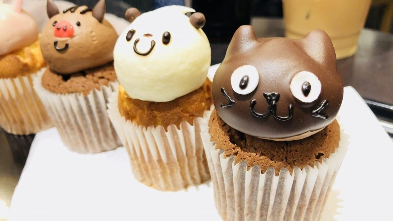 松本市たぬきケーキ