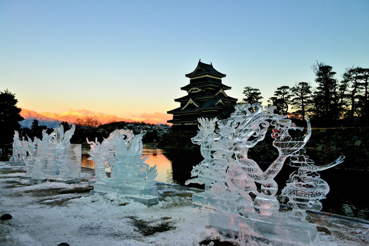 松本市氷彫